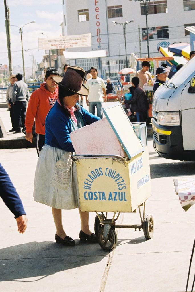 helado chupete peruana típica huaraz