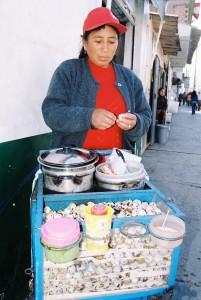 ovo codorna comida peruana huaraz