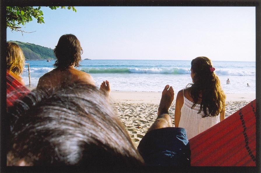 Contemplando a Praia do Sono, Paraty