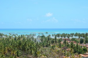Vista da Praia de São Miguel dos Milagres rota ecológica alagoas