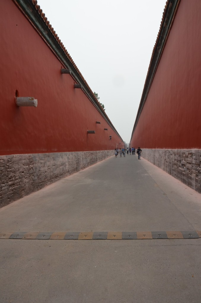 corredor cifdade proibida pequim beijing china