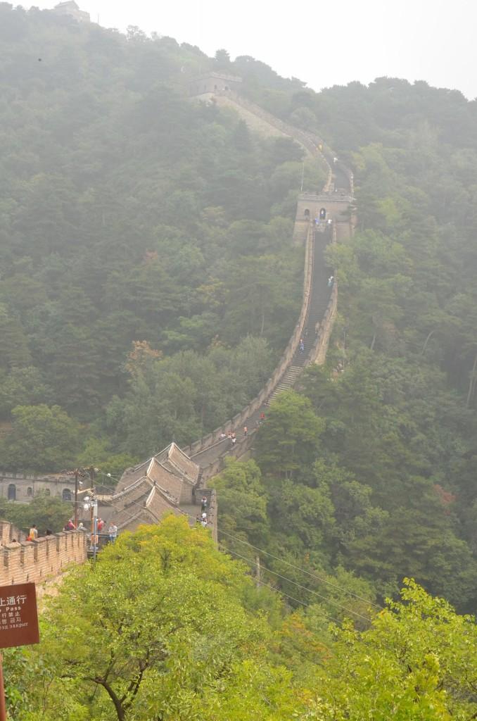 Grande Muralha da China, na altura de Muntianyu