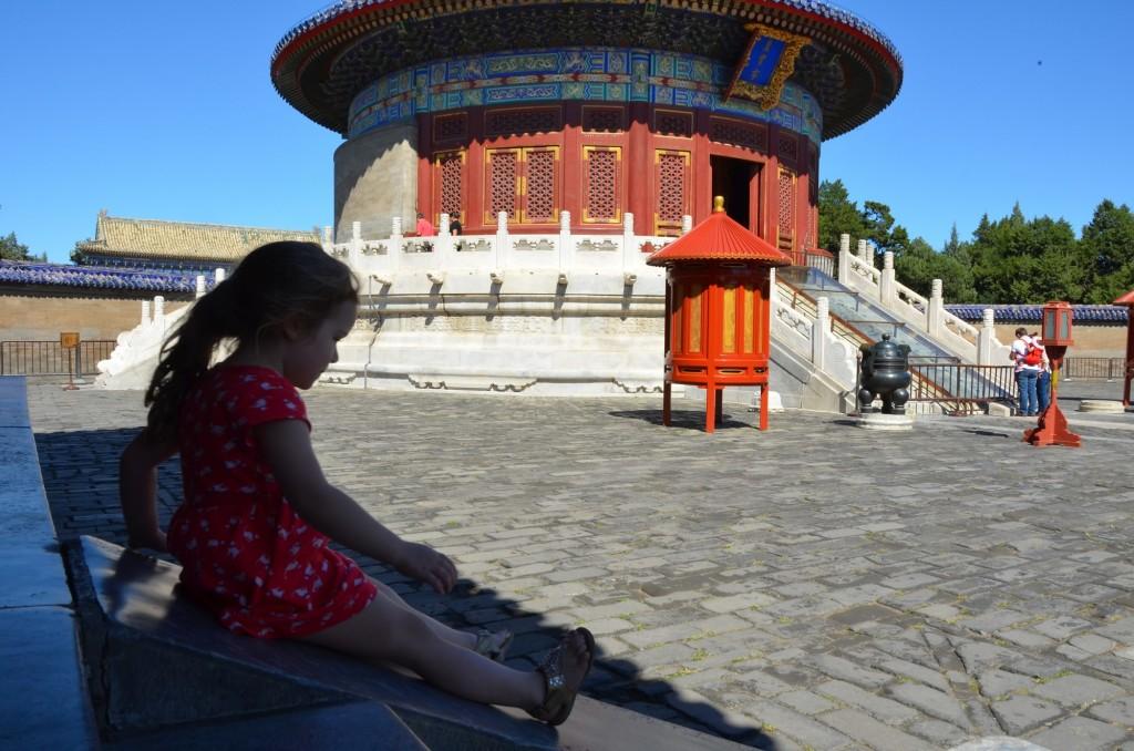 templo do paraíso escorregador criança china pequim beijing