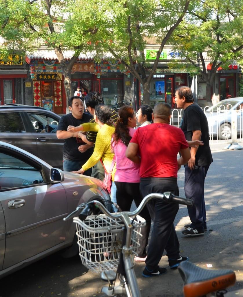 briga trânsito China beijing