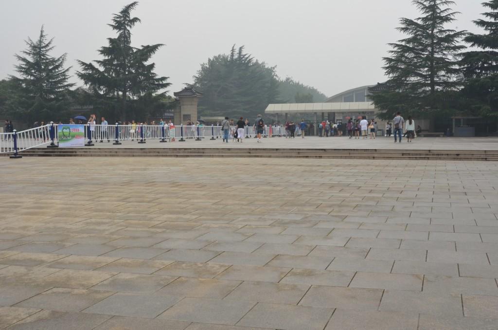 entrada guerreiros de terracto china xi'an