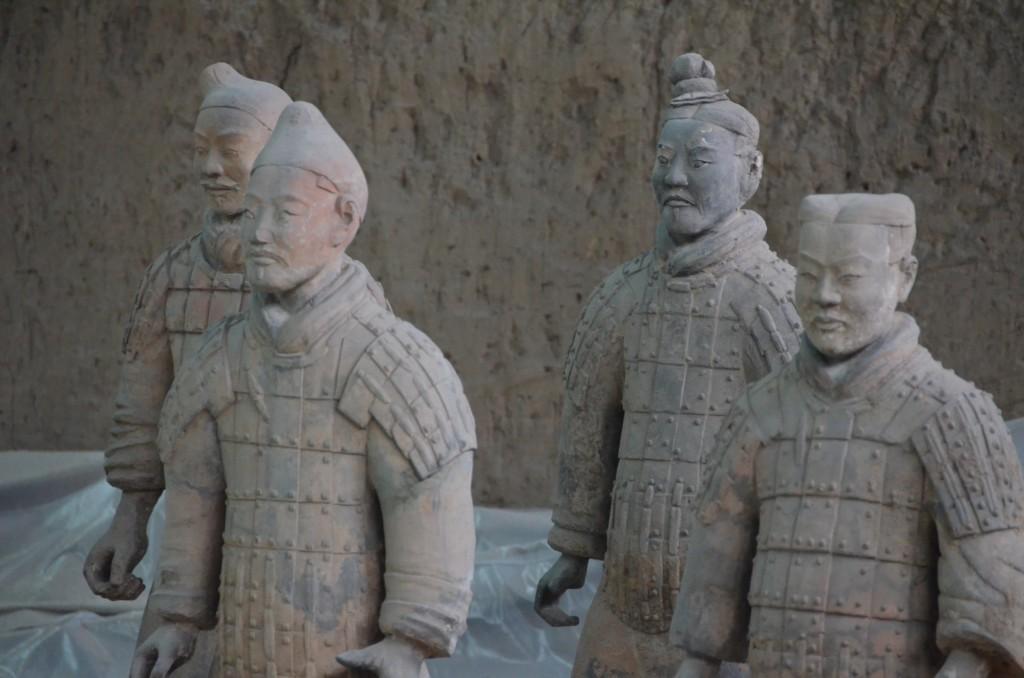 guerreiros de terracota china xi'an