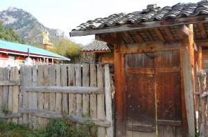 casa chinesa portão tibetana
