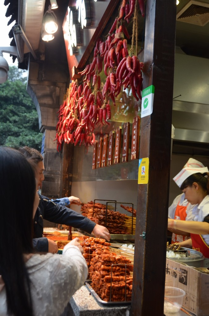 comida na rua jinli Chengdu