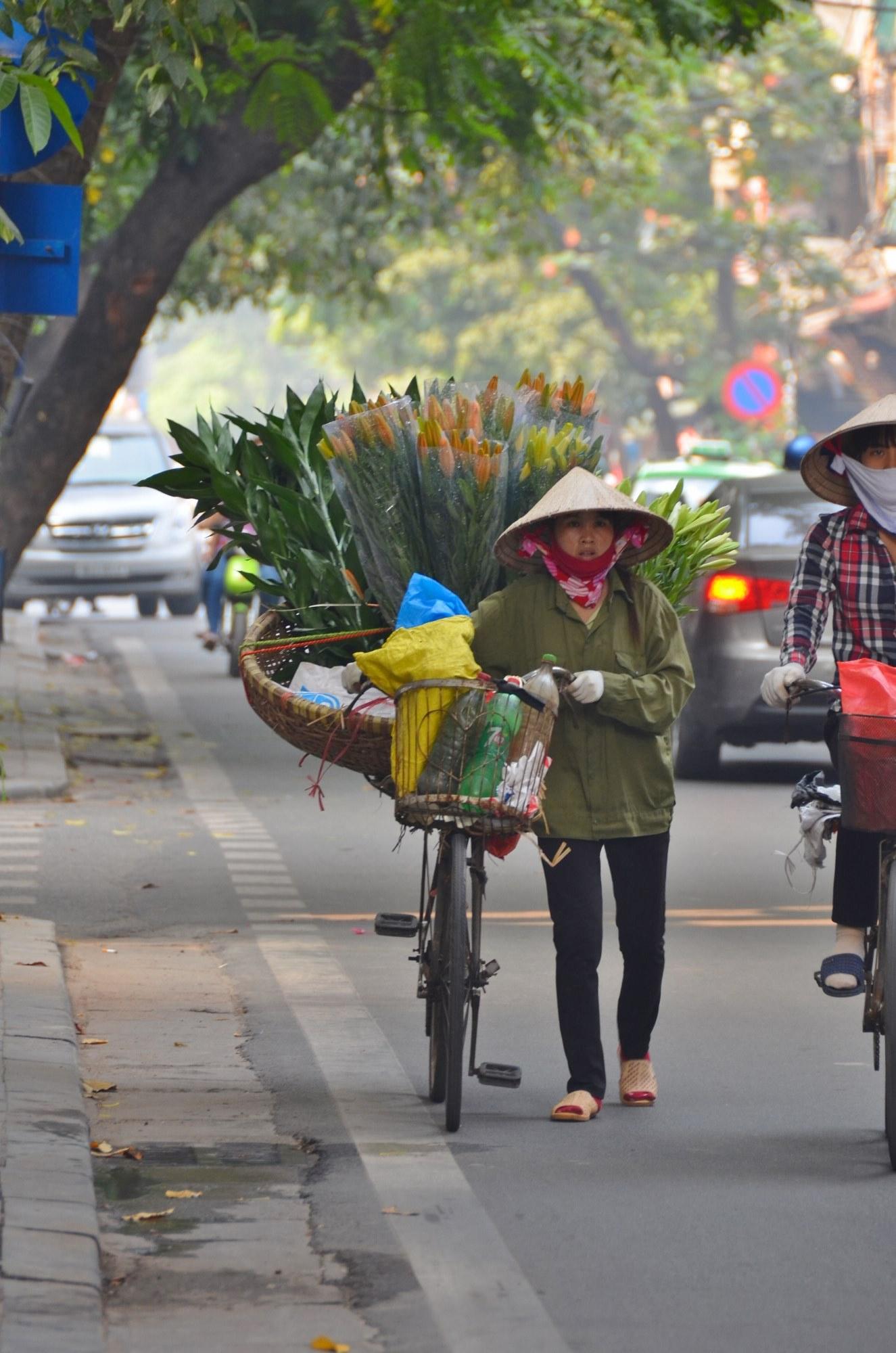 Uma florista em Hanói - quem acompanha pelo Instagram já viu essa, não?
