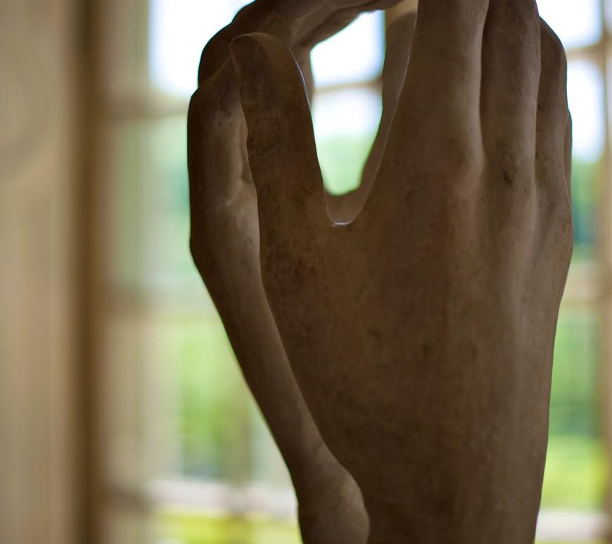 mãos rodin catedral museu