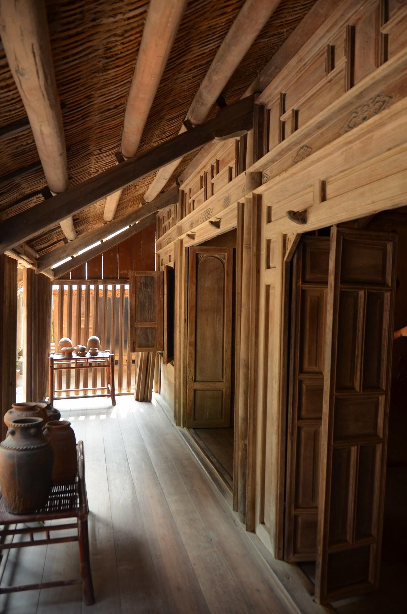 casa madeira etnia cham museu etnografia etnologia hanoi vietnam