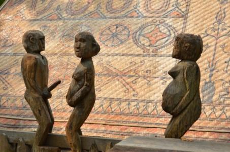 Tumba etnia giarai museu etnografia tímulo etnologia hanoi vietnam