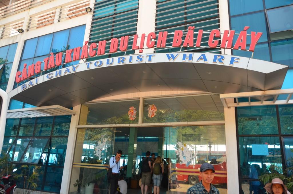 entrada poro turístico halong bay vietam