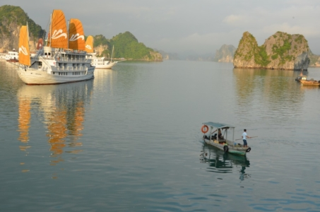 barcos halong bay vietnam