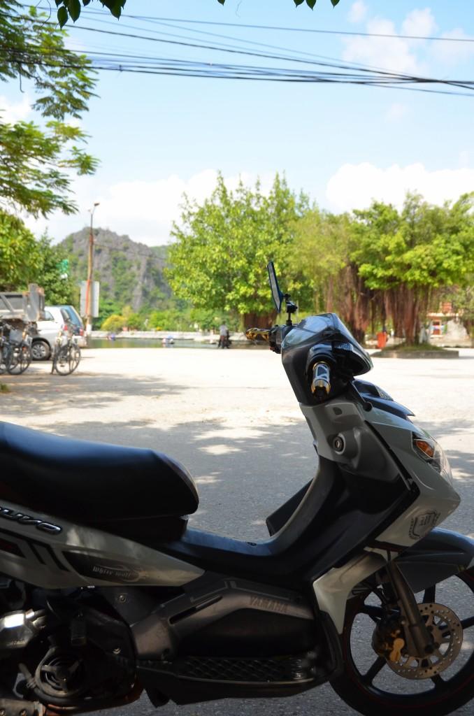 scooter, moto, tam coc, vietnam
