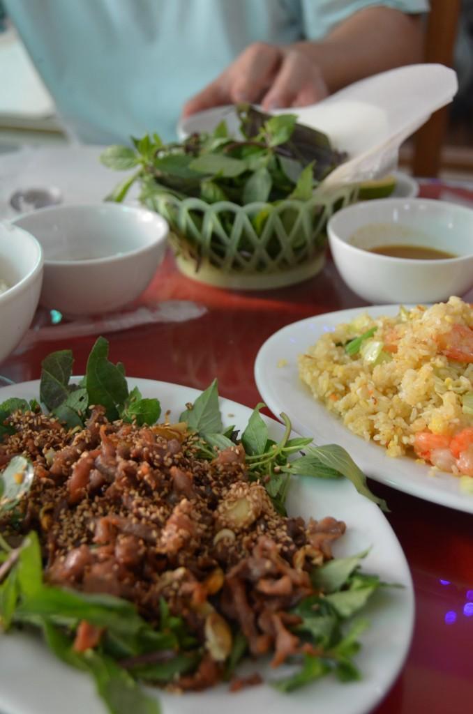 comida vietnamita, almoço, vietnam, tam coc