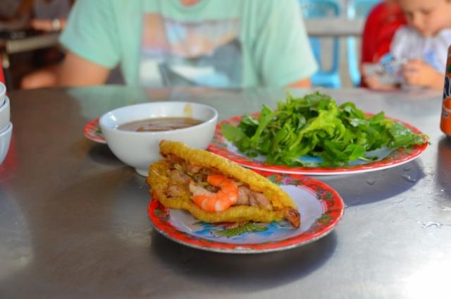 banh khoai, hue, vietnam, comida vietnamita