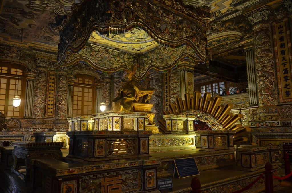 mausoléu, Lăng Khải Định, khai dinh, vietnam, hue