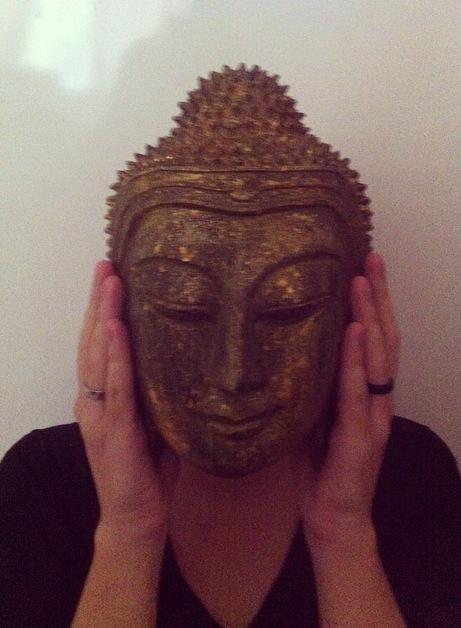 máscara de Buda tailândia