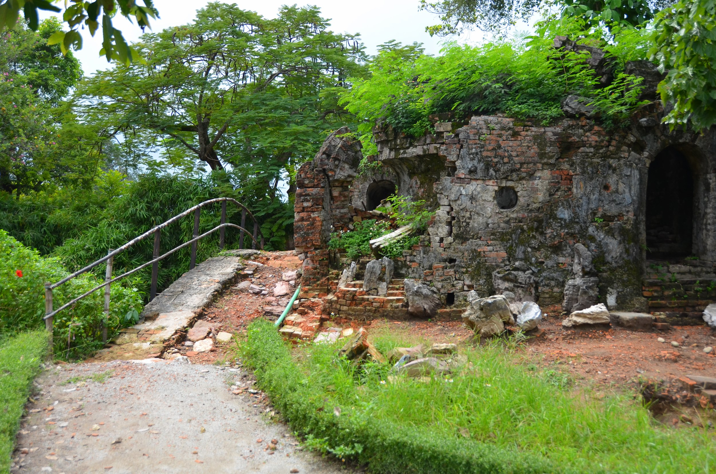 citadela, cidade imperial, Hué, vietnam, ponte, guerra