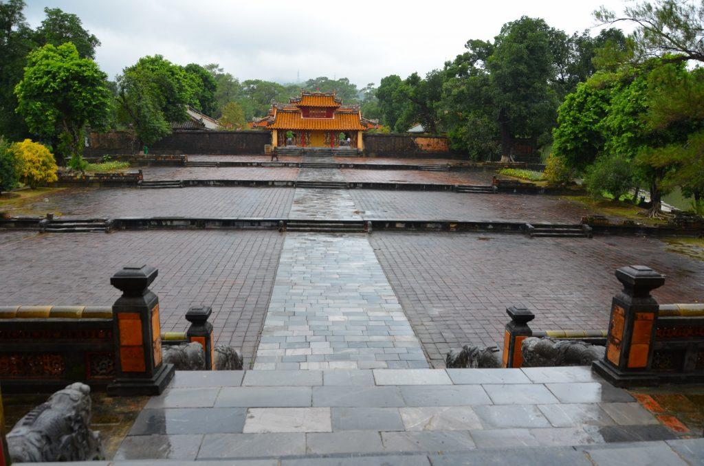 mausoléu, hué, vietnam