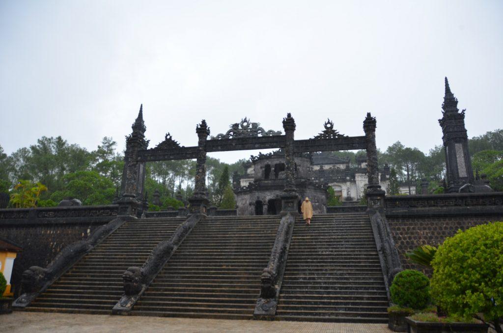 mausoléu, hué, vietnam, khao dai