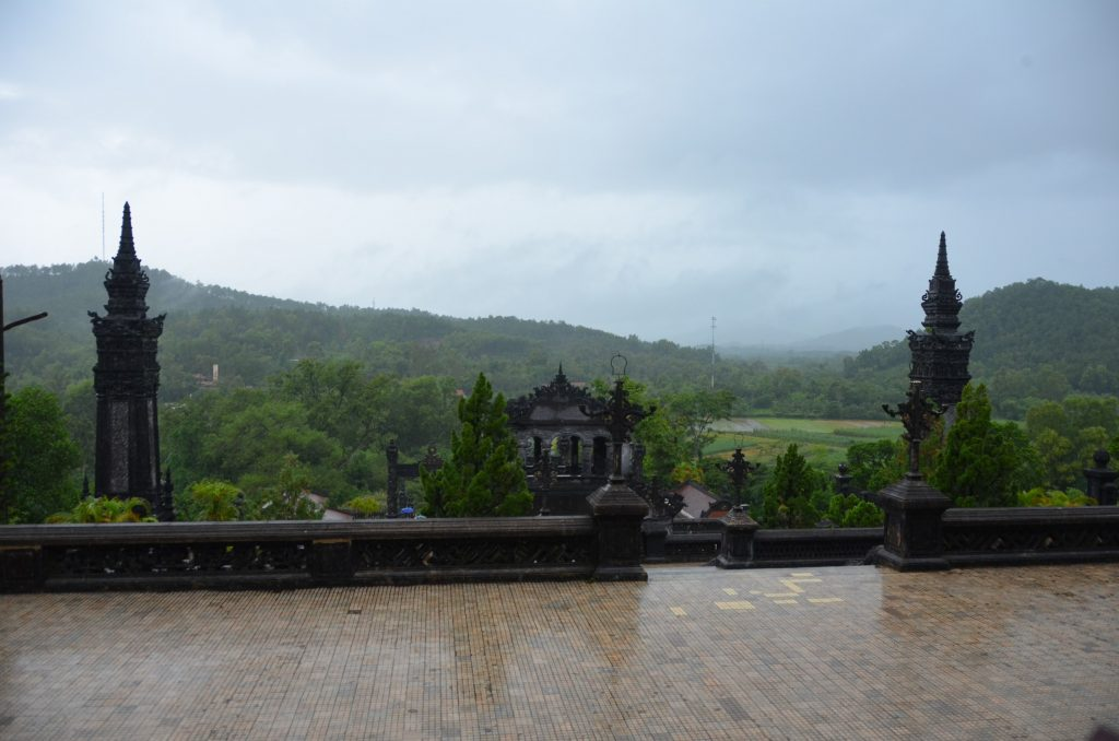 hué, mausoléu, vietnam, montanhas