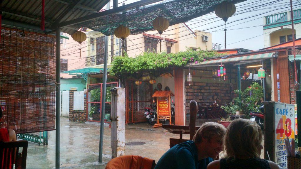 chuva, monção, vietnam, hoi an